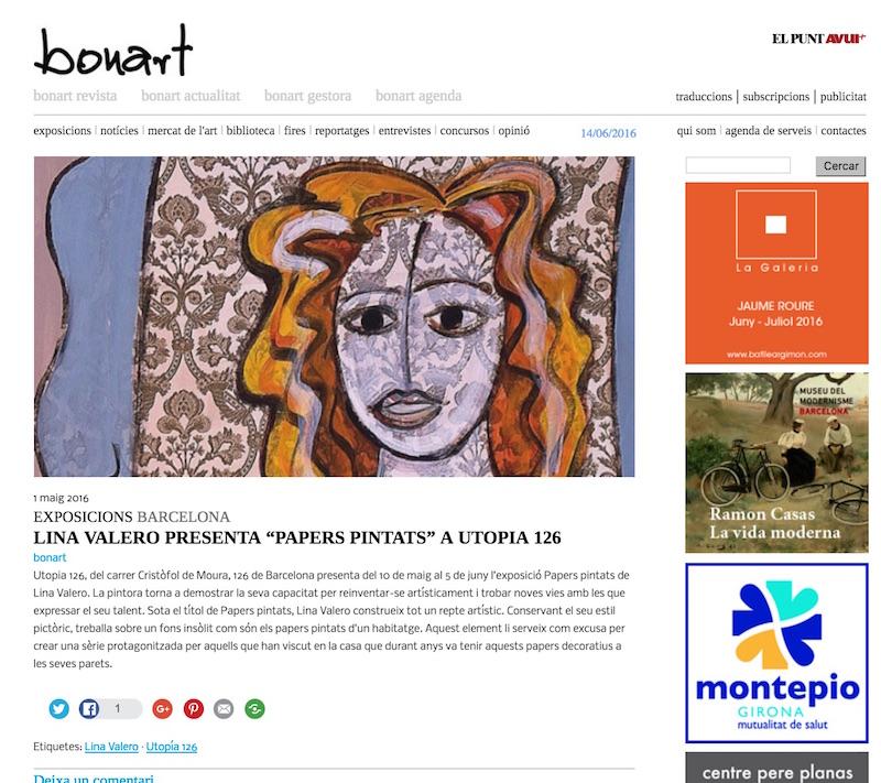 Bonart Revista d' Art. Actualitat
